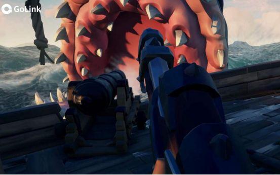 盜賊之海巨齒鯊克拉肯怎么打?Golink免費加速器為玩家極速助力