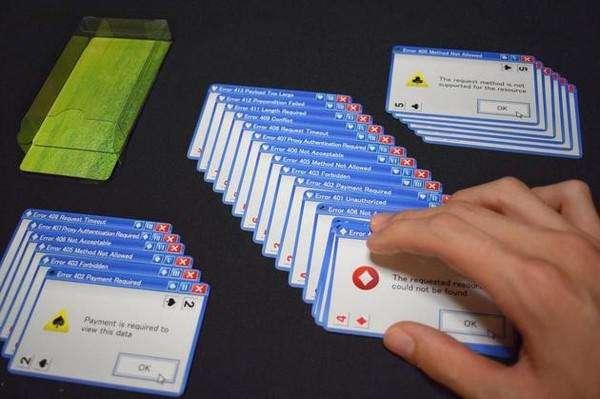 日本推出微软错误弹窗扑克 崩溃感扑面而来