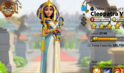 万国觉醒埃及艳后天赋推荐加点 埃及艳后怎么加点比较好