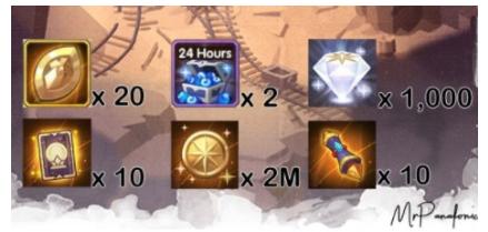 剑与远征迷轨沙洲有哪些奖励 剑与远征迷轨沙洲宝箱奖励介绍