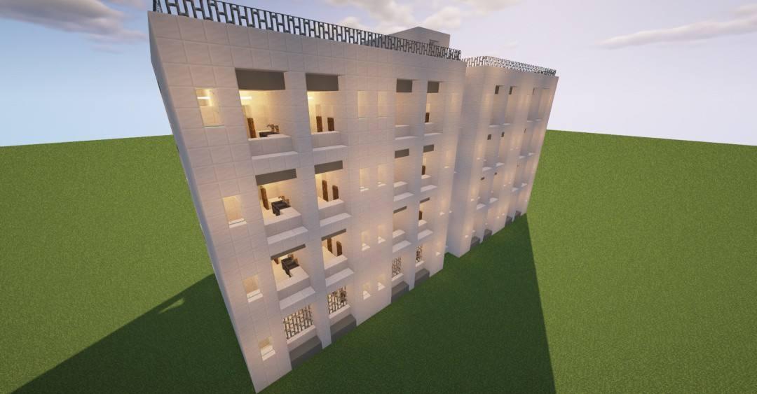 惊喜开学季,《我的世界》校园风建筑教学