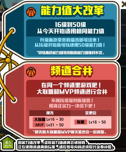 LV31=LV50能力?迎接《街头篮球》新版本能力堆法