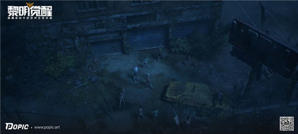 POPIC动画导演李佳鹏新作《黎明觉醒》CG,呈现超真实生存世界