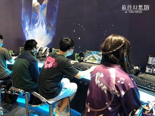 《最終幻想14》廣州CICF記錄:黃金周的游戲盛宴