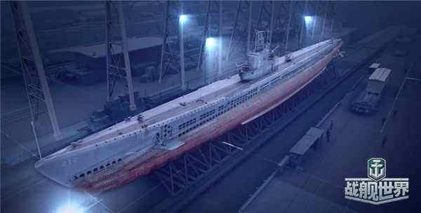 《战舰世界》海军传奇:重温潜艇 USS鳕鱼号