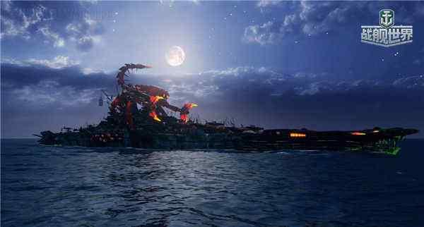 开南瓜宝箱得限定豪礼《战舰世界》万圣节活动上线