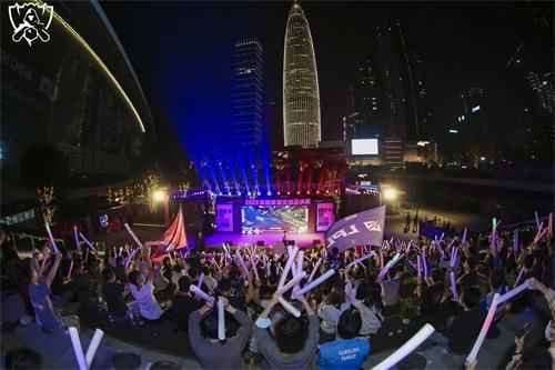 2020全球总决赛落幕  线下观赛融入城市生活