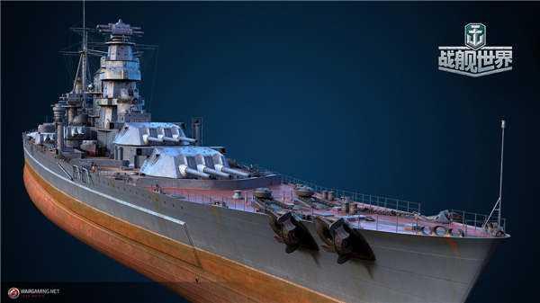 "S系图纸舰船登场《战舰世界》""喀琅施塔得""带你华丽奇袭"