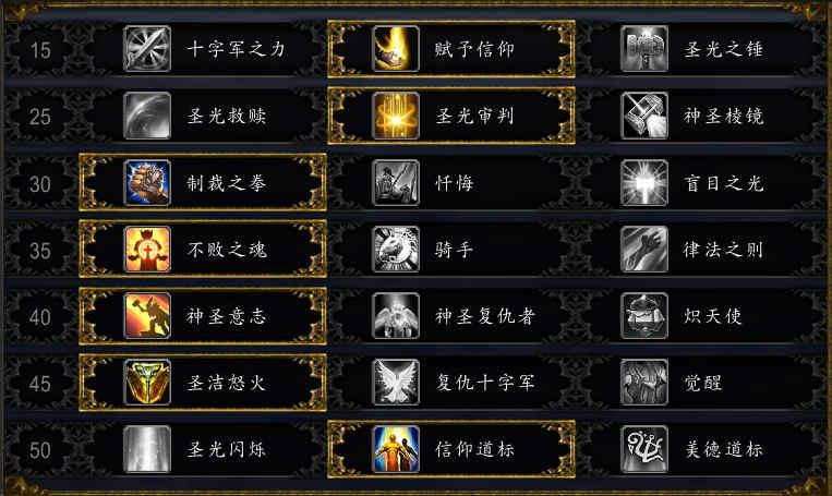 魔兽世界9.0奶骑天赋选择 暗影国度奶骑天赋推荐