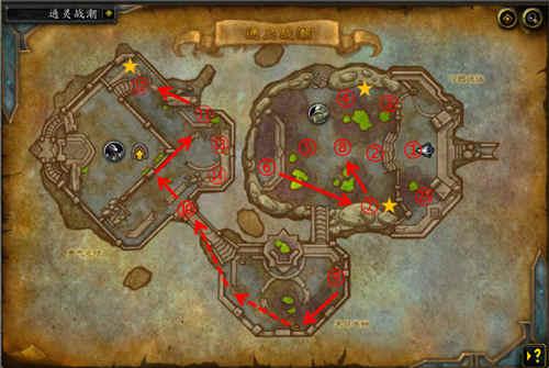 <b>魔兽世界9.0通灵战潮大秘境流程图 通灵战潮地图攻略</b>