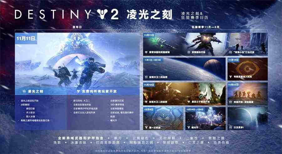 《命运2:凌光之刻》新赛季首次铁旗即将开启,全新系列装备闪耀登场!
