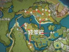 原神蒙德地灵龛分布图 风神龛地图位置一览