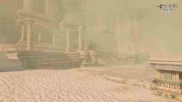 """《古剑奇谭OL》团队秘境""""吉昌废城"""":隐藏在荒沙下的王城废墟,等待探寻!"""