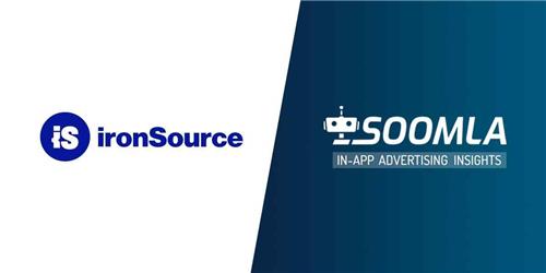 ironSource收购SOOMLA提升广告质量洞察力!