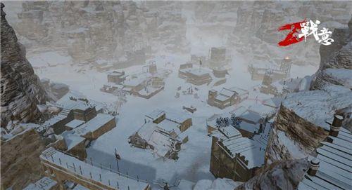 《战意》新意玩法登场,大雪纷飞,激情夺旗