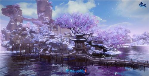 冬日里的浪漫!《新倩女幽魂》动态雪景降临主城