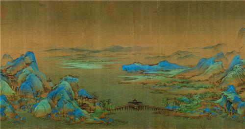 国宝名画天龙传承 共绘华夏千里江山