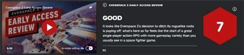 《永恒空间2》EA版IGN评分7分 单人动作RPG的起始