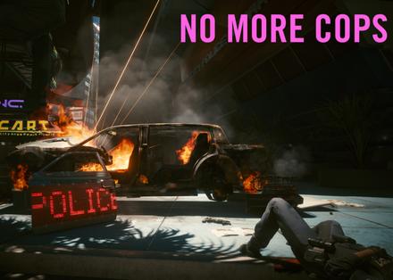 《赛博朋克2077》不要条子Mod 取消通缉系统自由游戏