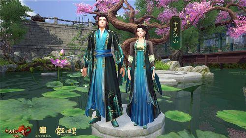 动捕技术助力 新天龙《千里江山》合作时装献礼新春