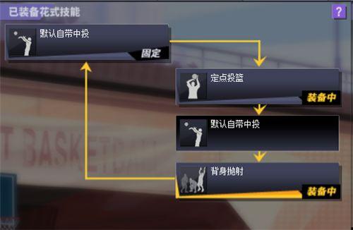 《街头篮球》战术大师:普通PF花式技能搭配心得