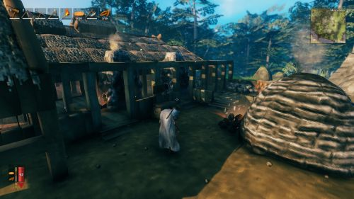 Valheim英灵神殿矿物通过传送门bug分享