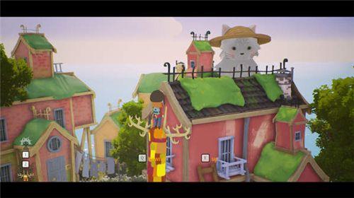 《玛鲁与她梦幻般的境界》上架Steam 卡通冒险游戏