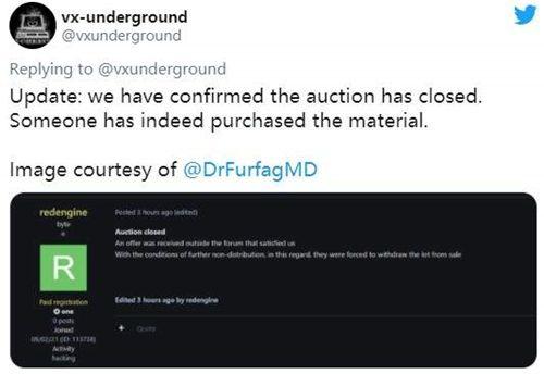 CDPR被盗《巫师3》等作代码已售出 购买者出价未知