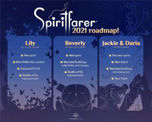《灵魂旅人》将推出3次免费大更新 分别在春夏冬季上线