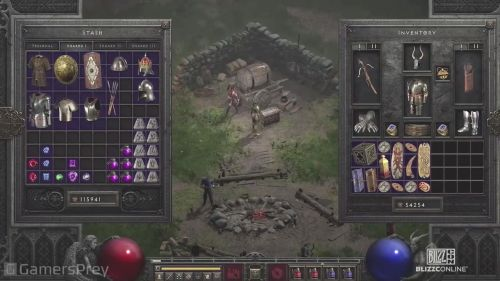 暗黑破坏神2重制版画面怎么样 暗黑破坏神2重制版实机演示一览