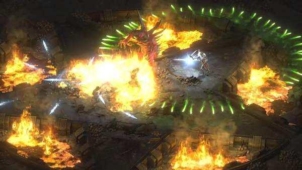 《暗黑破坏神2 重制版》支持4K分辨率 游戏画面可切换