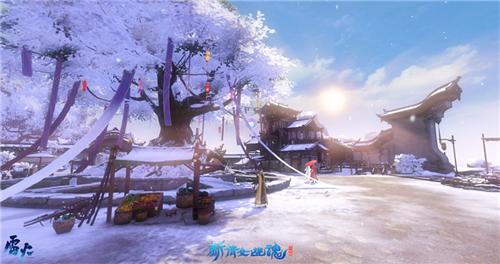 雪融春至!《新倩女幽魂》雪景地图下线