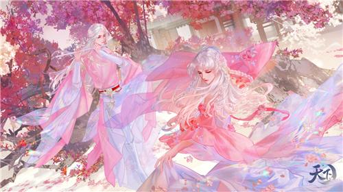 莺啼柳绿三月春!《天下3》花朝节与你一起迎花神!