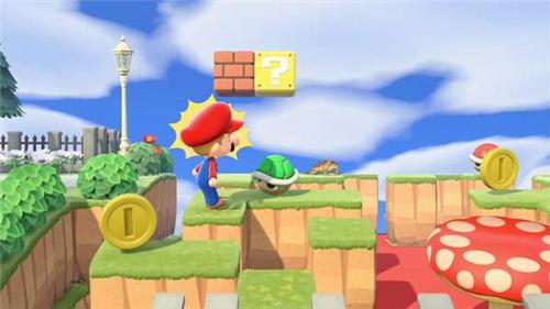 《动森》官方岛屿更新马里奥主题 戴上红帽子去串门吧