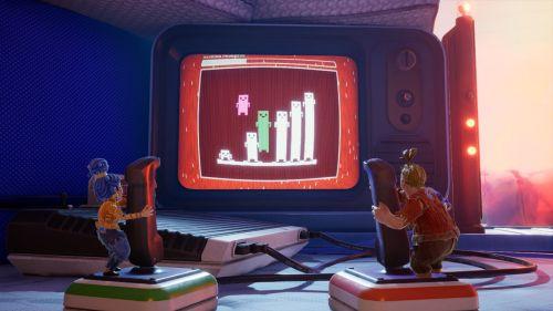 双人成行城堡里的公主章节通关视频 城堡小象关卡