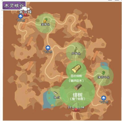 小森生活绯树刷新位置一览 绯树砍伐攻略
