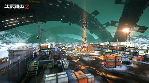 《生死狙击2》场景整容式迭代!近未来风格超视觉享受