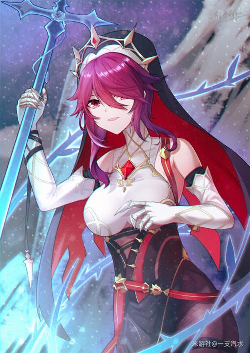 原神罗莎莉亚主c培养攻略 罗莎莉圣遗物武器选什么