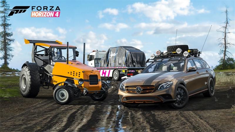 《极限竞速:地平线4》携手Top Gear活动来袭,丰富奖品