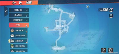 航海王热血航线天使岛100%探索攻略 天使岛如何全探索