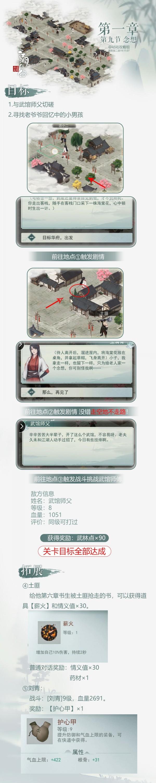 江湖悠悠手游第一章第九节怎么过 1-9关卡通关剧情详解