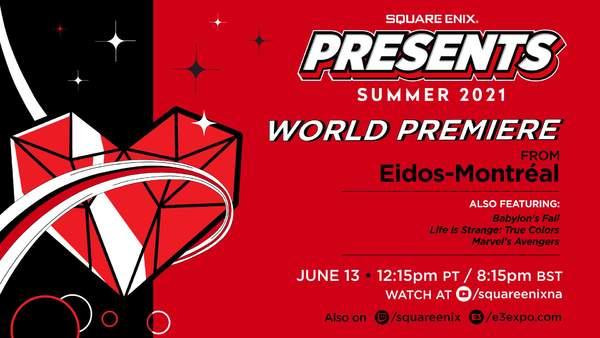 Square Enix官宣E3发布会时间:6.13 多部作品参与