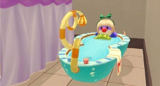 摩尔庄园手游澡堂搭建攻略 多人泡澡方法