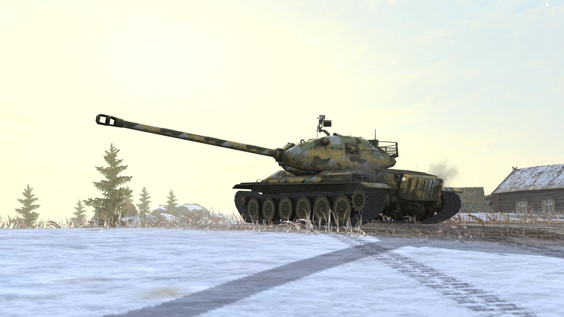 《坦克世界闪击战》M系新战车线、画质升级 7周年福利活动开启!