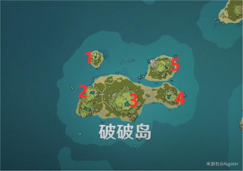 原神海岛探险破破岛5石柱怎么做 破破岛水位解密
