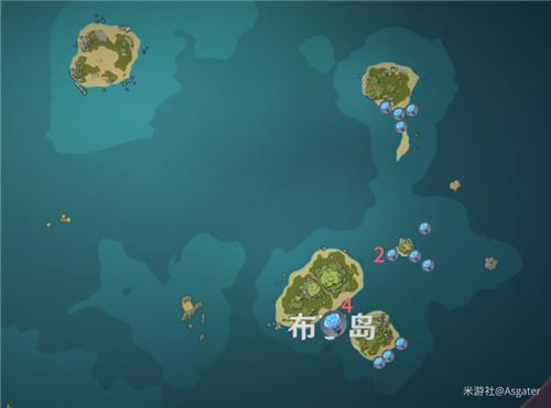 原神海岛探险海灵芝在哪 海灵芝位置一览