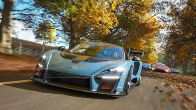 《极限竞速:地平线4》迈凯伦speedtail携手多款豪车登