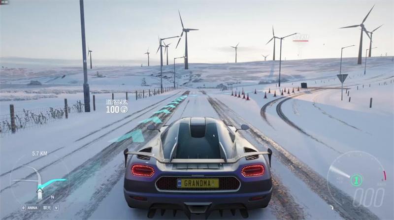 《极限竞速:地平线4》冬季赛即将打响