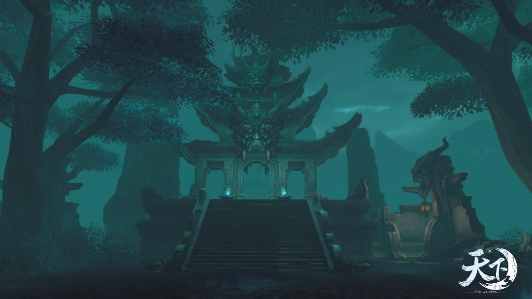 丹墨书香,碧水清和 《天下3》邀你体验新版本全新地图!