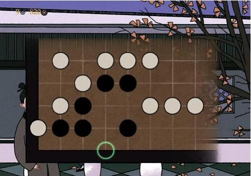 古镜记围棋怎么下 围棋下棋位置分享